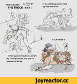POSE RESEARCH: THE TRUCK(HS#) 1. When opponent laydown, use left leg crossing through and loch on opponent's left leg. 2. Then hold opponent's right leg with both arms. \Vv