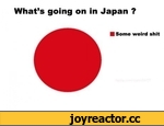 What's going on in Japan ? ■ Some weird shit