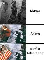 Manga Anime Netflix Adaptation