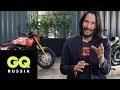 Киану Ривз показывает свою коллекцию мотоциклов,Entertainment,джейкью,джейкью_журнал,gq_журнал,gq,мода,стиль,знаменитости,звезды,интервью_со_звездами,мотоциклы,матрица,нео,мото,байк,матрицаперезагрузка,джонуик,Среди просто классных затесались и легендарные. Например, мотоцикл созданный специально дл