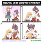 MONGIRL MKDMA 331: UNDERESTIMATE THE POWER OF LOVE https://www.patreon.com/collateralds https://www.pixiv.net/fanbox/creator/2684i53By GreenTeaNeko